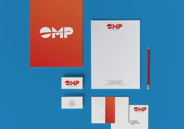 OMP Logo Design