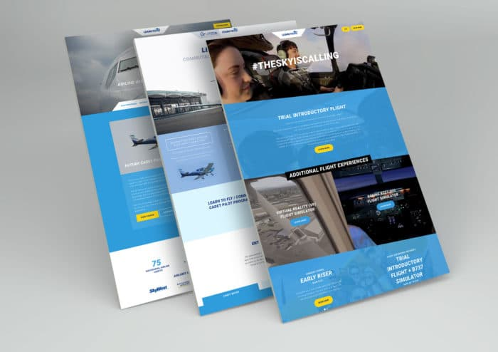 SGD Landing Page Design